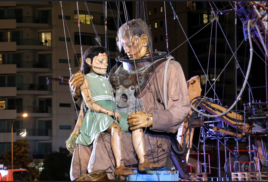 the giants perth festival image